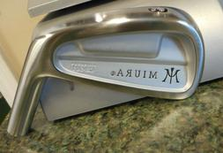 New Miura Golf CB-501 Cavity Back 3-iron Head Only or Built