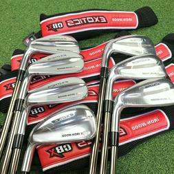 NEW Tour Edge Exotics CBX Iron Wood 4-PW Iron Set UST Recoil