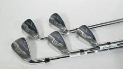 New! COBRA FLY-Z XL IRONS IRON SET  Steel REGULAR Flex Shaft