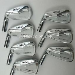 New Golf Irons Golf Clubs Honma Iron Group 4-10 W Steel Golf