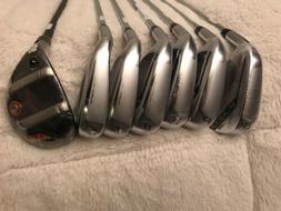 New Cobra Golf King F7 Combo Iron Set 4/5H, 6-PW, GW Reg Dis