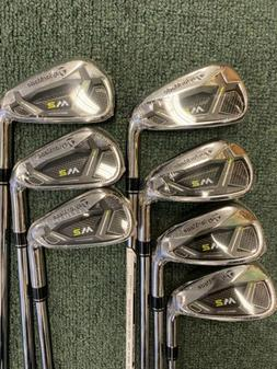 NEW TaylorMade GOLF M2 HL 4-PW Iron set REAX Steel Stiff Fle