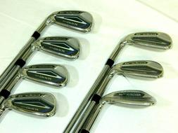 NEW, Cobra King F-8 One Length Iron set 5-GW Reg Flex Steel.