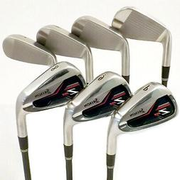 New Left Handed Srixon Golf Z355 Irons 5-PW N.S. Pro Steel R
