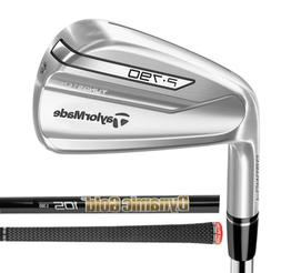 NEW Left Handed TaylorMade P790 Irons / Dynamic Gold ONYX 10