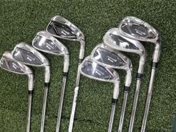 New Taylormade M4 Golf Irons 4-GW RH Steel Stiff KBS Max 85