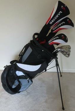 NEW Mens Complete Golf Club Set Driver Wood Hybrid Irons Put