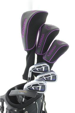 NEW AGXGOLF PETITE LADIES LAVENDER GOLF SET w/BAG +DRIVER+HY