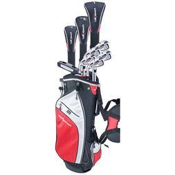NEW PowerBilt Pro Power 10 Piece Golf Set Driver, Wood, Iron