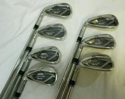 New RH Taylormade M4 Iron Set 4-PW KBS Max 85 Steel Regular