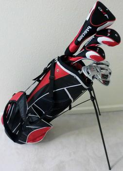 NEW Senior Graphite Golf Set Complete Driver, Wood, Hybrid,