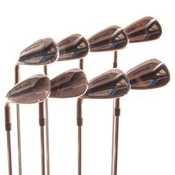 New TaylorMade SpeedBlade Iron Set 5-PW,AW,SW FST Stiff Flex