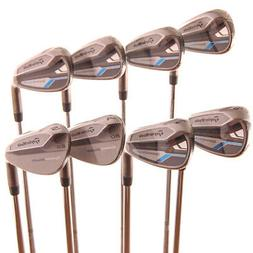 New TaylorMade SpeedBlade Iron Set 5-PW,AW,SW R-Flex Steel