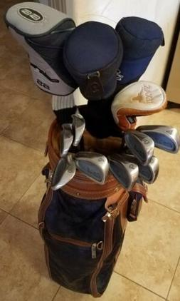 Nice Ladies Full Golf Set of King Cobra Woods/Irons/Bag/Putt