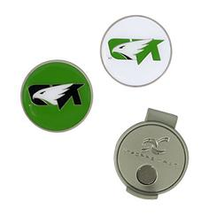 Team Effort North Dakota Fighting Hawks Hat Clip & 2 Ball Ma