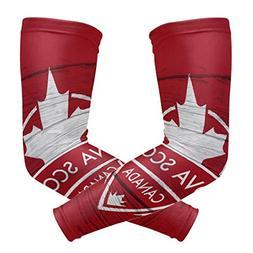 Franzibla Nova Scotia Province Canada Maple Leaf Flag Sports