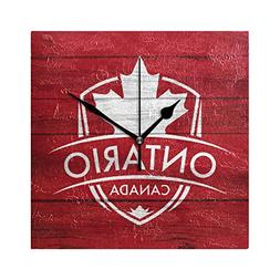 Franzibla Ontario Province Canada Maple Leaf Flag 7.87 Inch