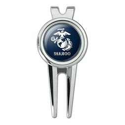 Oorah! Marine Corps USMC White on Blue Officially Licensed G