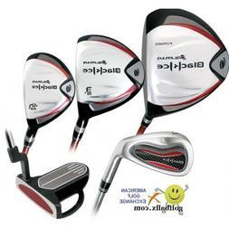 Orlimar Golf Men's Black Ice Edition Golf Club Set; with Hyb