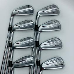TaylorMade P790 Irons 4-AW Steel Dynamic Gold X100 Extra Sti