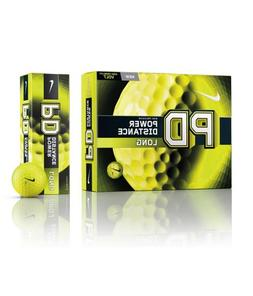 Nike Golf PD Long Power Distance Golf Balls, Volt