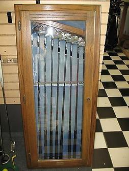 Ben Hogan Personal Iron Set / Brand New / Rare With Oak Case