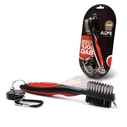 Shaun Webb's PGA, Golf Brush Set, All-in-1 Cleaner for Irons
