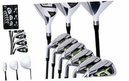 Pinemeadow Men's PGX Golf Set-Driver, 3 Wood, Hybrid, 5-PW I