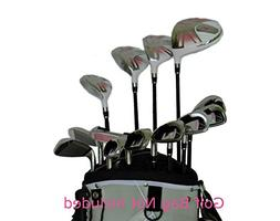 Sephlin - Pink Womens 13 Pieces Right Hand Golf Clubs Set