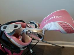 PowerBilt Pink Series Junior Golf Set Right Handed Age 5-9 -