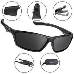 Morph Aim Polarized Sport Sunglasses for Men and Women - Spo
