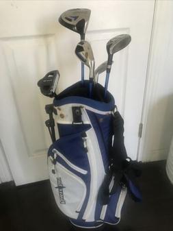 Power Bilt Junior Kids Left Handed Golf Clubs