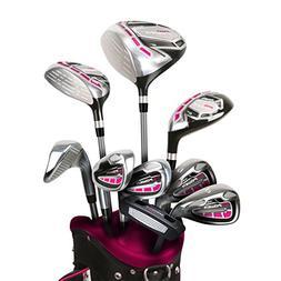 PowerBilt Women's Pro Power Golf Set, Left Hand