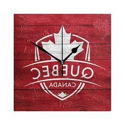 Franzibla Quebec Province Canada Maple Leaf Flag 7.87 Inch B