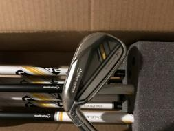 TAYLORMADE RBLADEZ RBZ 2.0 YELLOW IRONS RH 4-PW GRAPHITE LAD