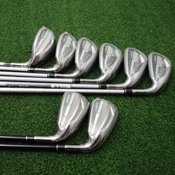 TaylorMade RBZ Max Iron Set, 4 to PW+SW, Steel, Left Handed,