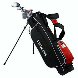 Pro Select New Red 13 Piece Complete Golf Set w/Driver,Irons