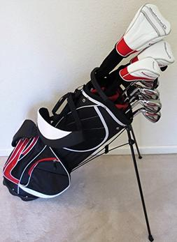 TaylorMade Golf Clubs Set with Stand Bag