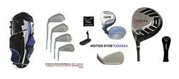 AGXGOLF Boys Right Hand Tour Eagle Combo Starter Golf Club S