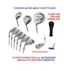 AGXGOLF Ladies Right Hand XS Tour Series Complete Golf Set: