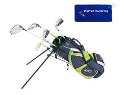 Paragon Rising Star Junior Kids Golf Club Set  Green LEFT Ha