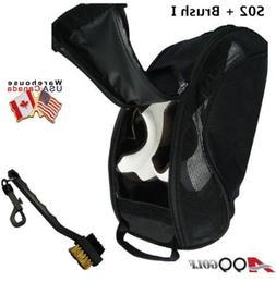 A99 Golf S02 shoes bag Mesh LIGHT WEIGHT BLACK ventilate + T