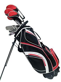 S7 Men's Limited Edition Tall Red Complete Full Golf Club Se