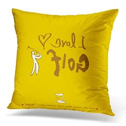 Sdamase Throw Pillow Covers Active Sport Hand Drawn Athlete