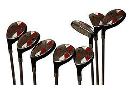 Majek Senior Men's Golf All Hybrid Complete Full Set, whic