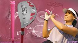 Integra Senior Ladies iDrive Pink Golf Club Hybrid Pitching