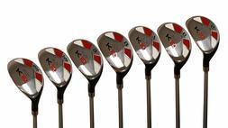 """Men's Majek Golf All Hybrid Full Set  Senior """"A"""" Flex Util"""