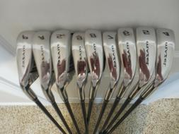MAZEL Single Length Golf Club Irons Set 4-SW