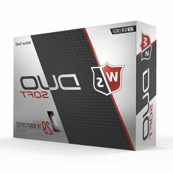 Wilson Staff Duo Soft White Golf Balls