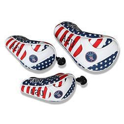 Craftsman Golf Stars and Stripes American USA US Flag Headco